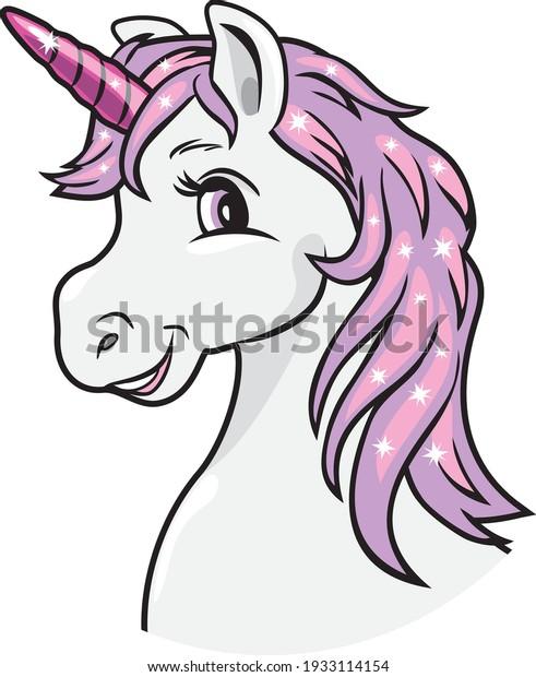 portrait-smiling-unicorn-vector-600w-193