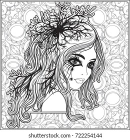 Sugar Skull Coloring Page 9 (With images) | Skull coloring pages ... | 280x260