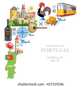 Portugal background objects