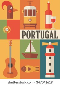 Portugal icon set