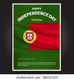 Portugal Independence Day poster