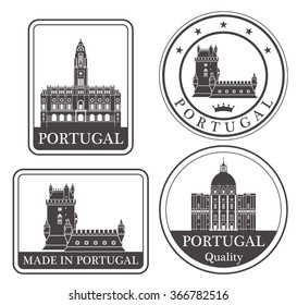 Portugal. Rubber and stamp