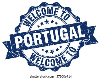 Portugal. Welcome to Portugal stamp