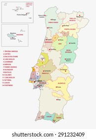 portugal wine regions map