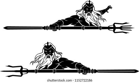 Poseidon Bust Set