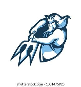 Poseidon E Sport Logo