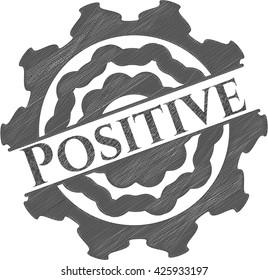 Positive pencil effect
