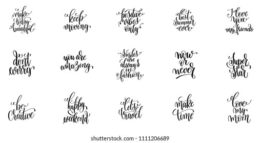 Positive Quotes Positive Quotes Day Short Stock Vector Royalty Free Amazing Short Positive Quotes