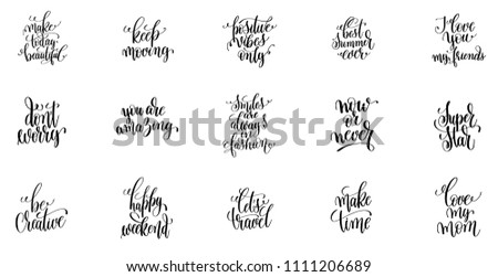 Image of: Sayings Positive Quotes Make Today Beautiful Keep Moving Love You My Friend Shutterstock Positive Quotes Make Today Beautiful Keep Stock Vector royalty Free
