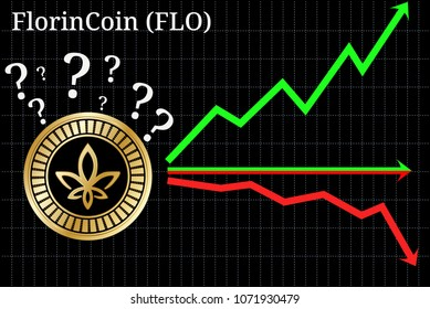Possible graphs of forecast FlorinCoin (FLO) - up, down or horizontally. FlorinCoin (FLO) chart.