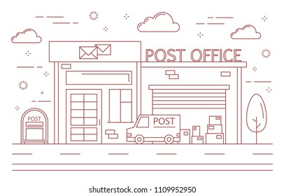Post Office Images, Stock Photos & Vectors | Shutterstock