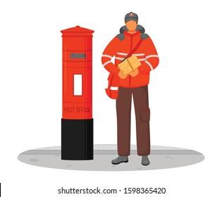 Postman Royal Mail Images, Stock Photos & Vectors | Shutterstock