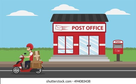 Post Office Images Stock Photos Vectors Shutterstock
