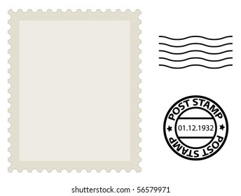 post stamp template