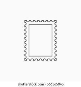 postage stamp icon
