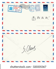 Postcard Letter from Santa