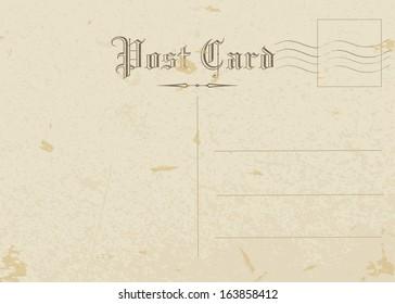 postcard, old paper