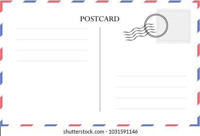 Postcard Back High Res Stock Images Shutterstock