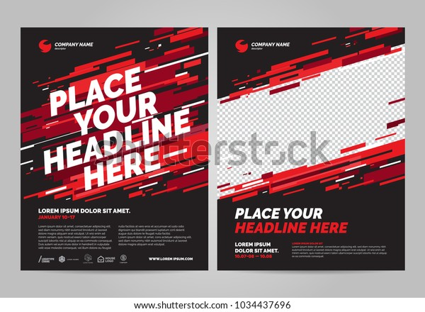 Шаблон спортивного приглашения плаката.