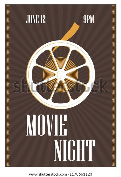 Free Movie Invitation Template from image.shutterstock.com