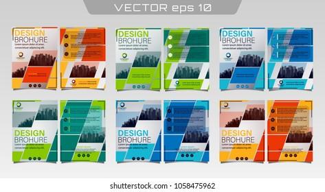 poster flyer pamphlet brochure cover design stock vector royalty