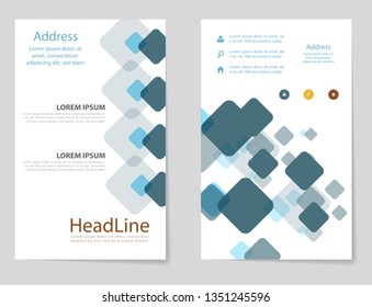 poster flyer pamphlet brochure cover design layout space for photo background, vector illustration template in A4 size