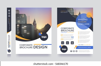 Company Brochure Template Stock Images RoyaltyFree Images