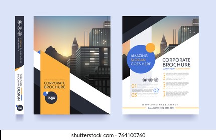 poster flyer pamphlet brochure cover design layout space for photo background, vector template in A4 size