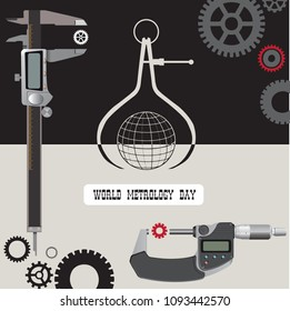 Poster for the holiday - World Metrology Day