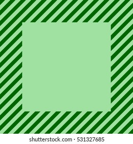poster light green square. banner stripes at an angle of 45 degrees. abstract lines. vector background