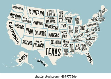 Map Of The United States Picture.Usa Map Images Stock Photos Vectors Shutterstock