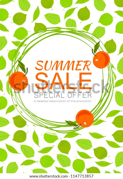poster for summer sale