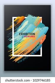 Art Exhibition Invitation Stock Vectors Images Vector Art