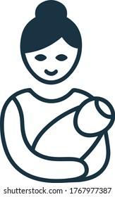 Postnatal Care & Support icon / childcare