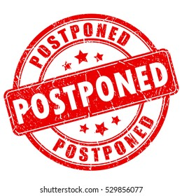 Postponed Images, Stock Photos & Vectors | Shutterstock
