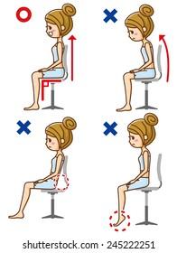 Posture to sit