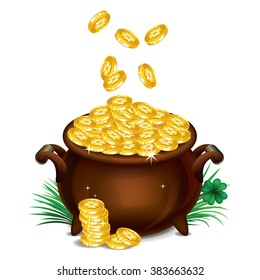 Pot Of Gold Rainbow Images Stock Photos Vectors Shutterstock