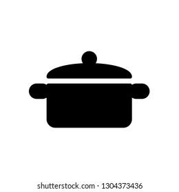 Pot icon Vector illustration, EPS10.