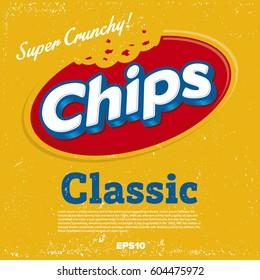 Potato Chips Logo design