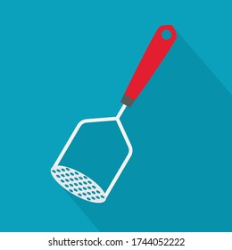 potato masher icon- vector illustration
