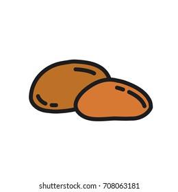 Potato. Vector icon