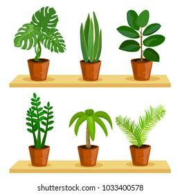 Plants Cartoon Images, Stock Photos & Vectors | Shutterstock