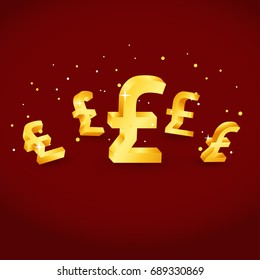 pound currency gold