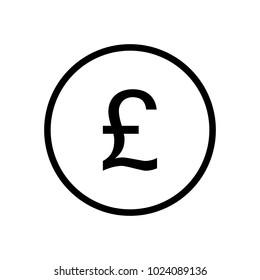 Pound symbol in circle
