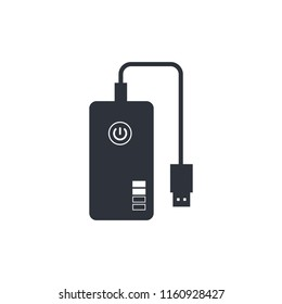 power bank icon charger