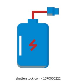 Power Bank, Portable Charging Device Icon Vector -