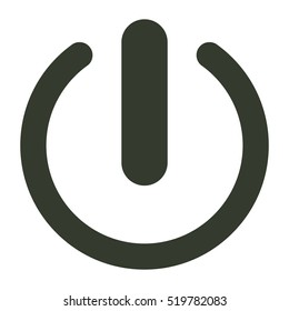 Power icon illustration isolated vector sign symbol