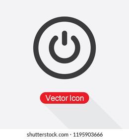Power Icon Vector Illustration Eps10
