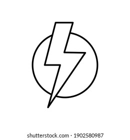 Power icon vector. Power Switch Icon. Electric power