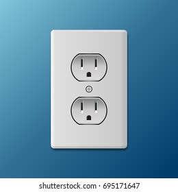 Power socket.